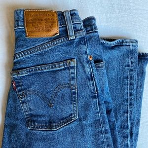 COPY - Levi's Ribcage Straight Ankle Jean